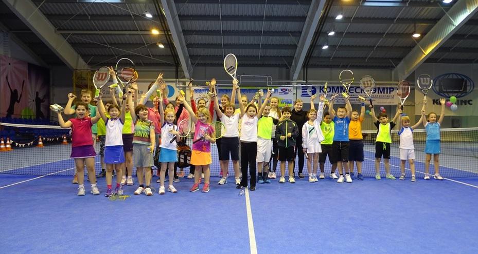 Petits joueurs de tennis