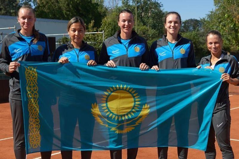 L'équipe nationale du Kazakhstan