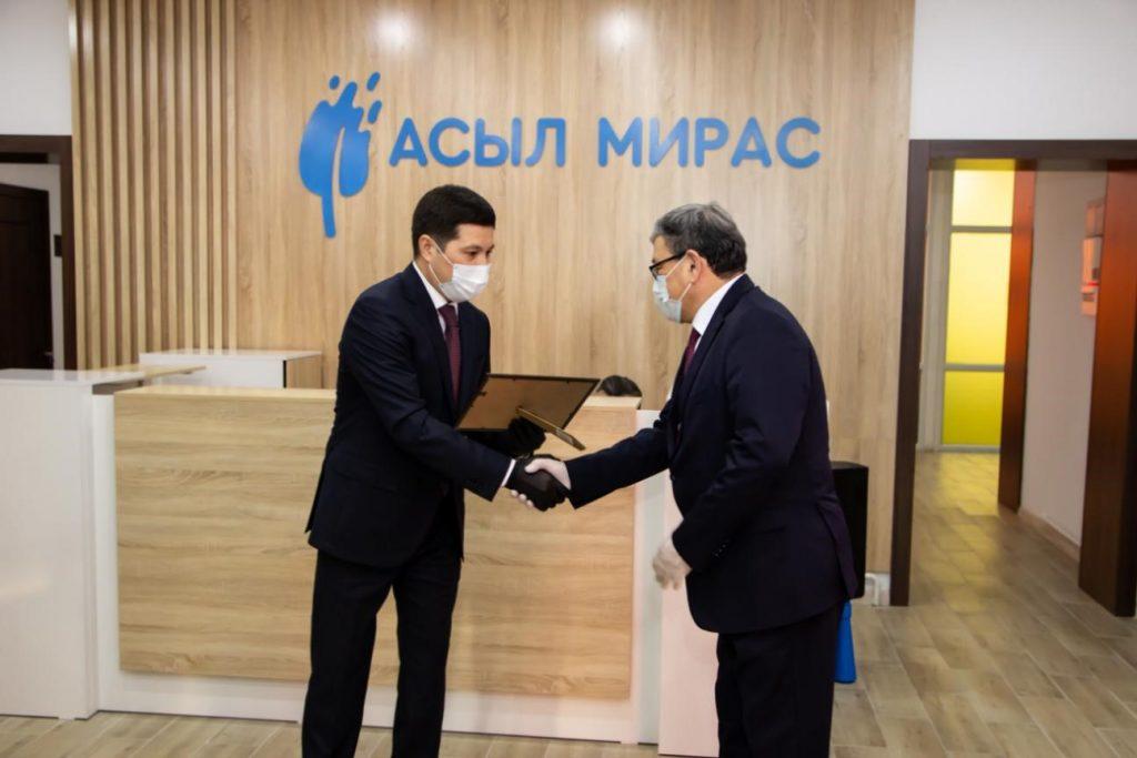 Ouverture du centre « Asyl Miras » à Pavlodar